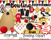 BOWLING Sports Clipart
