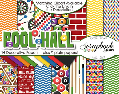 POOL HALL Digital Papers
