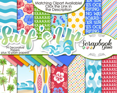 SURF'S UP Digital Papers