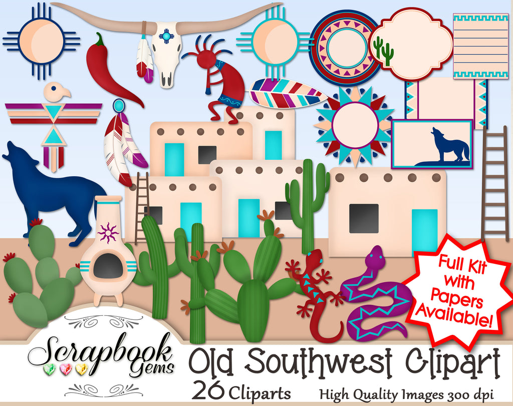 OLD SOUTHWEST Clipart