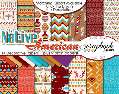 NATIVE AMERICAN Digital Papers