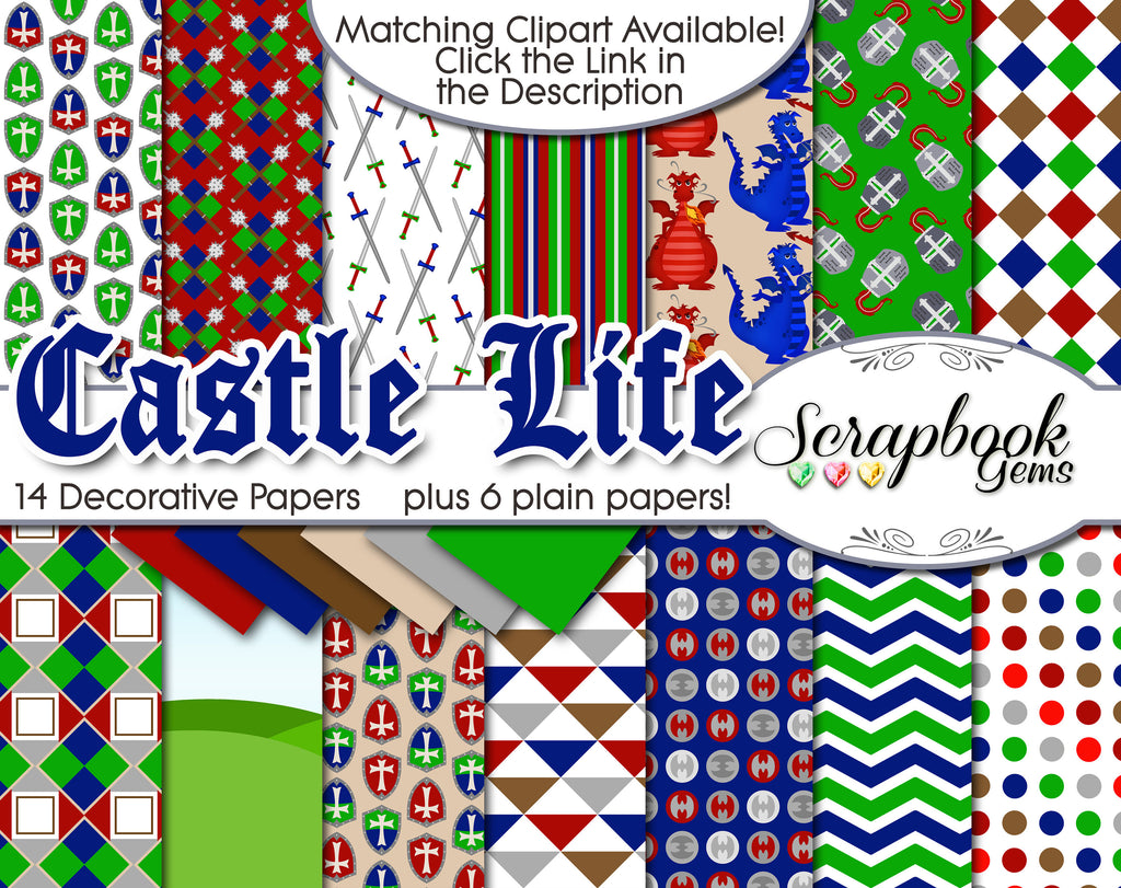 CASTLE LIFE Digital Paper