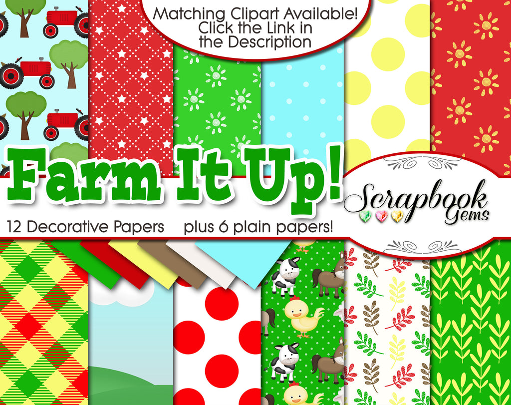 FARM IT UP! Digital Papers