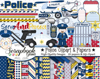 POLICE Clipart and Papers