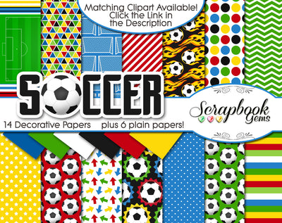 SOCCER Sports Digital Papers