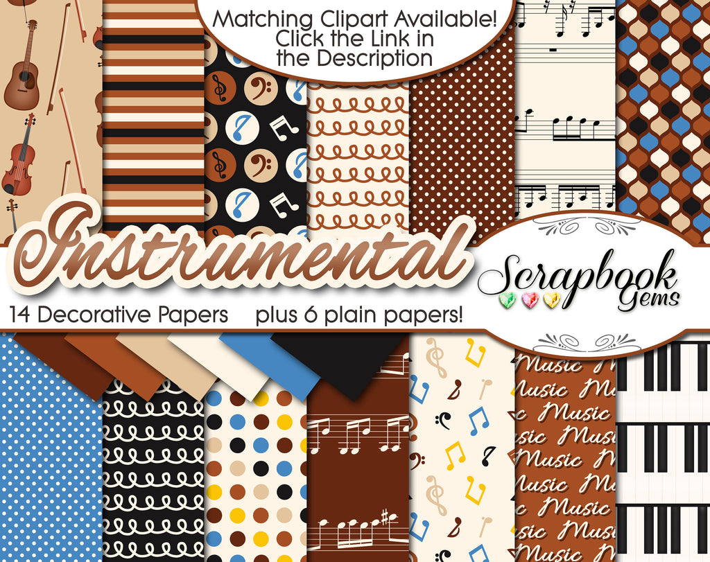 INSTRUMENTAL Digital Papers