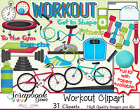 WORKOUT Clipart