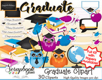 GRADUATE Clipart and Papers