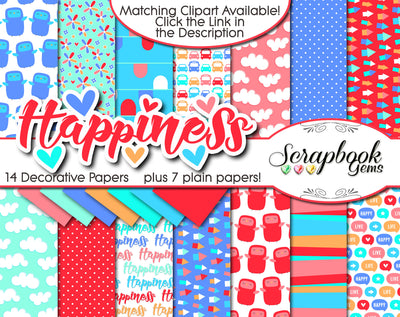 HAPPINESS Digital Papers