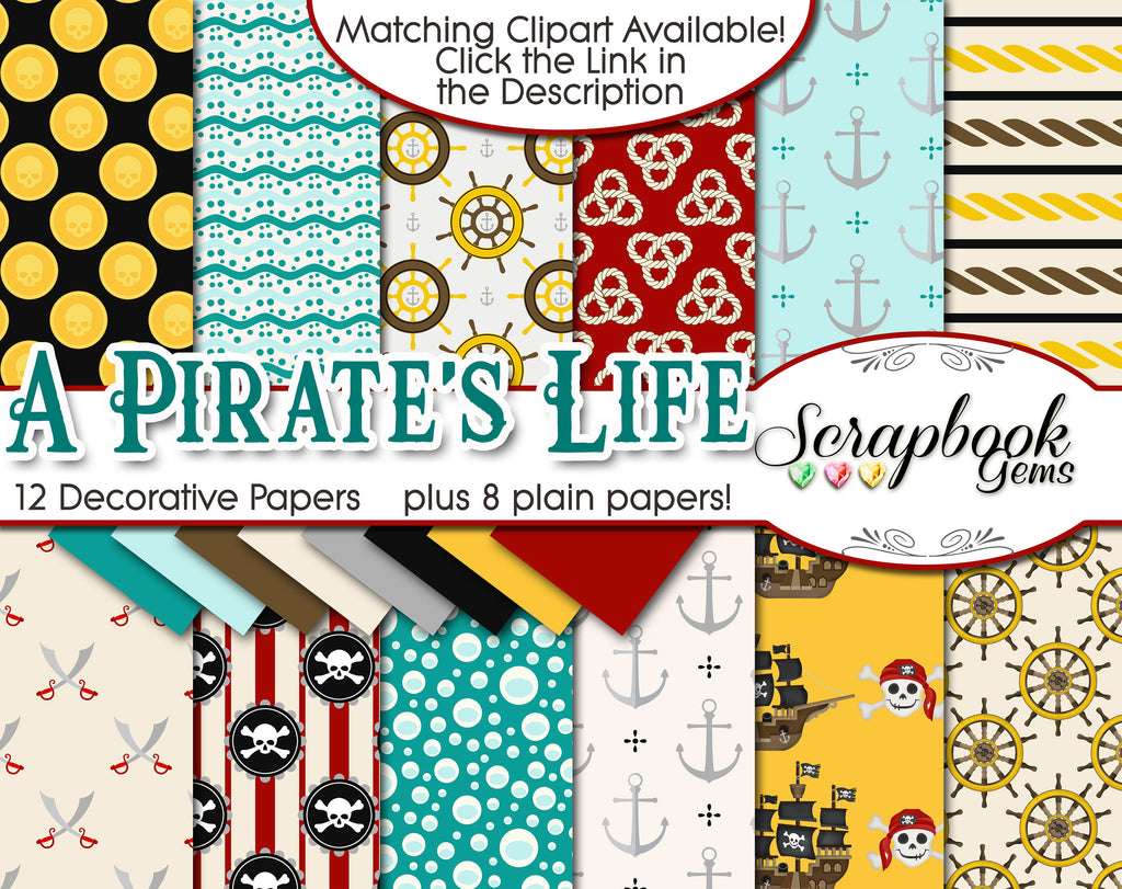 A PIRATE'S LIFE Digital Papers