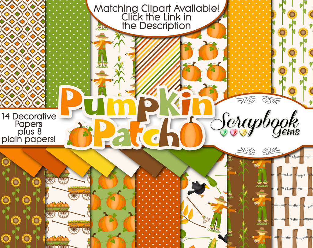 PUMPKIN PATCH Digital Papers