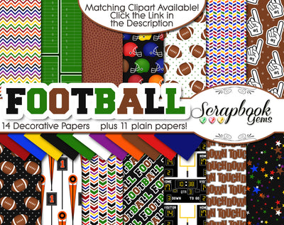 FOOTBALL Sports Digital Papers