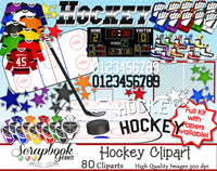 HOCKEY Sports Clipart