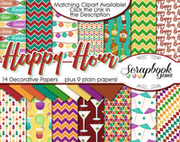 HAPPY HOUR Digital Papers