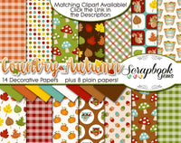 COUNTRY AUTUMN Digital Papers