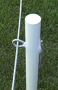"Gallagher 7/8"" Fiberglass Rod Post 48"" 10/Case"