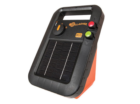 Gallagher Portable Solar Fence Energizer S10