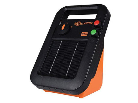 Gallagher Portable Solar Fence Energizer S16