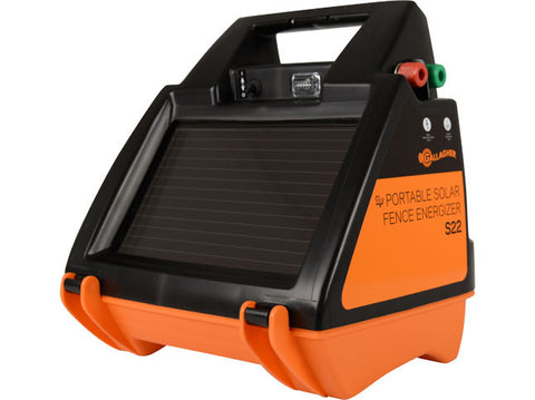Gallagher Portable Solar Fence Energizer S22