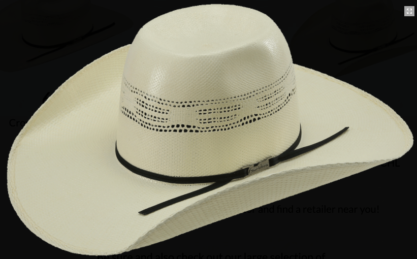 American Hat 650 Long Oval Straw