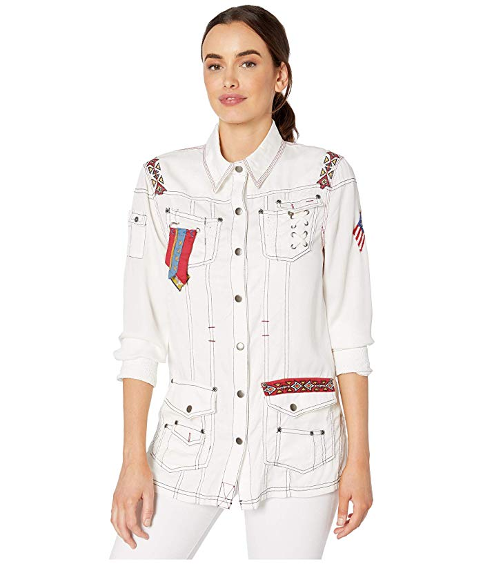 White Spirit Jacket-Jacket-Branded Envy