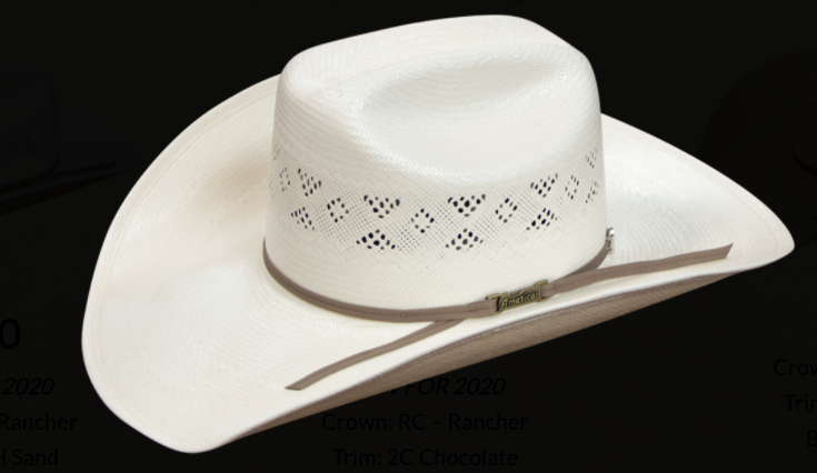 American Hat 8500 Long Oval Straw-Hat-Branded Envy