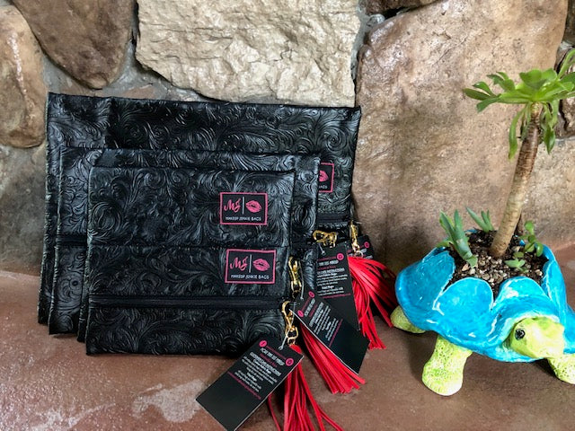Coal Miner Makeup Junkie-Bag-Branded Envy