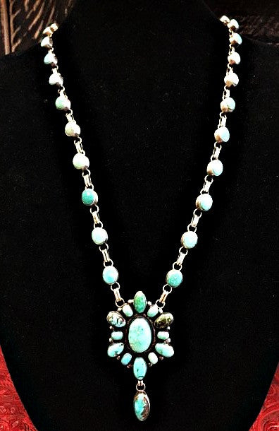 Miss Audie turquoise necklace