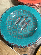 Feather salad plate