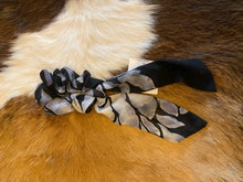 Hair scrunchies with long tail