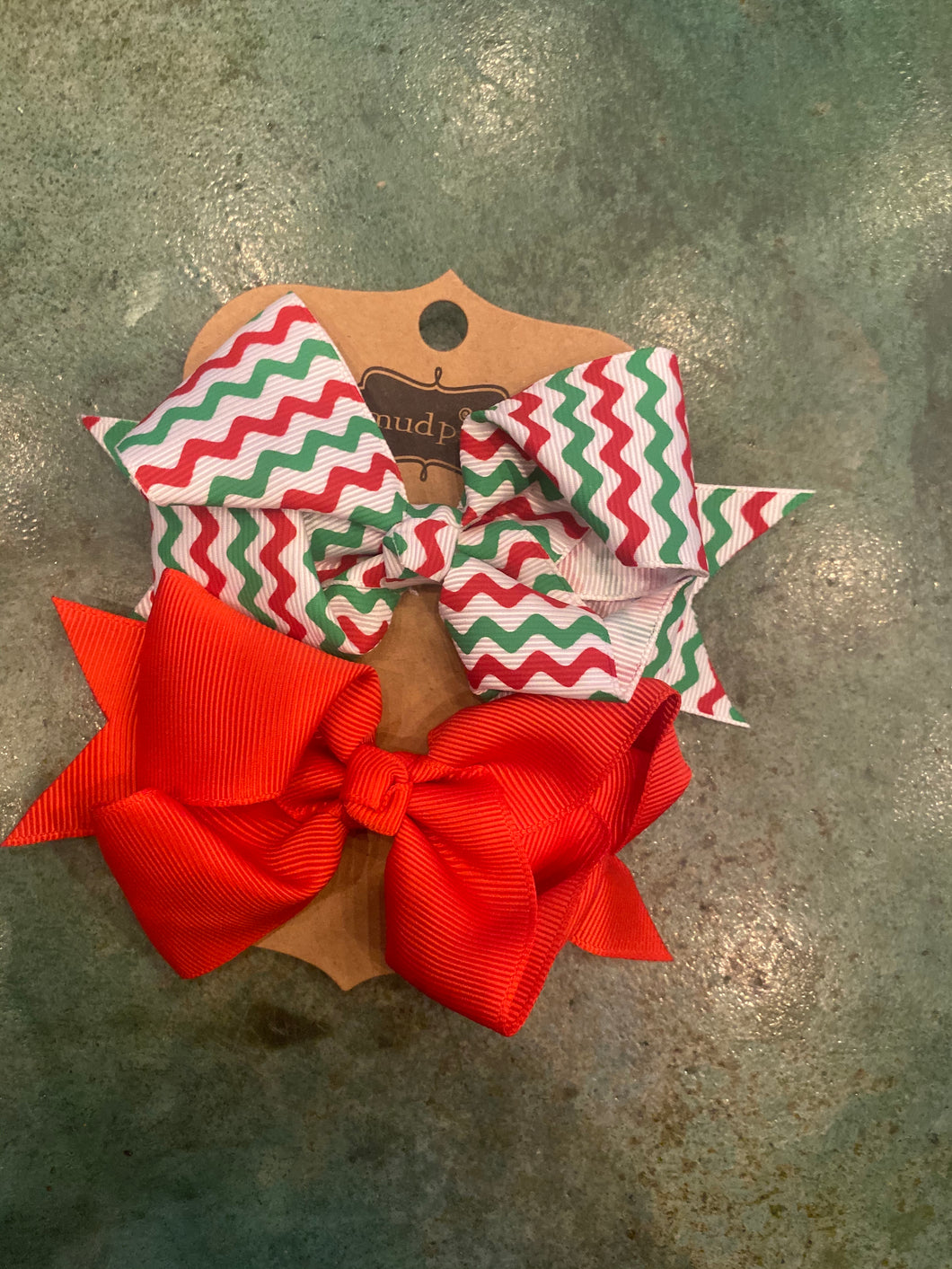 Double Pack Hair Bow