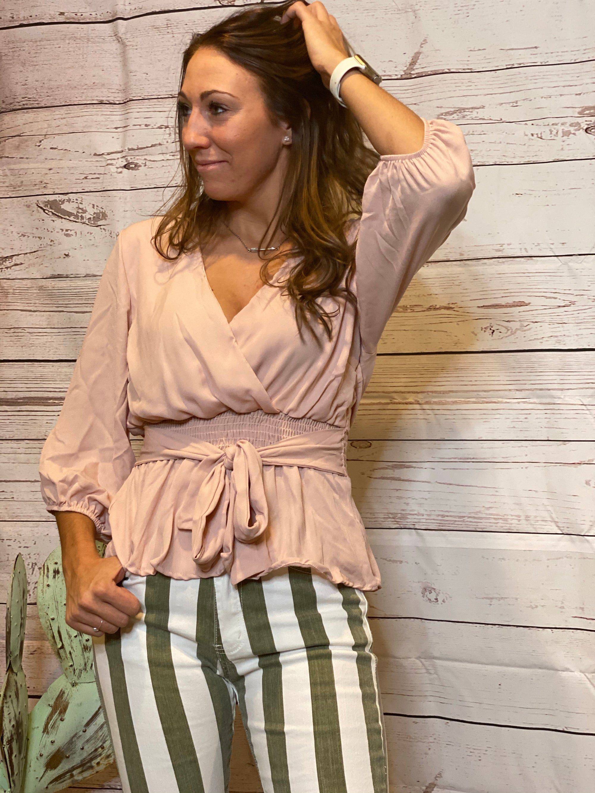 All Twisted - MAUVE-Blouse-Branded Envy
