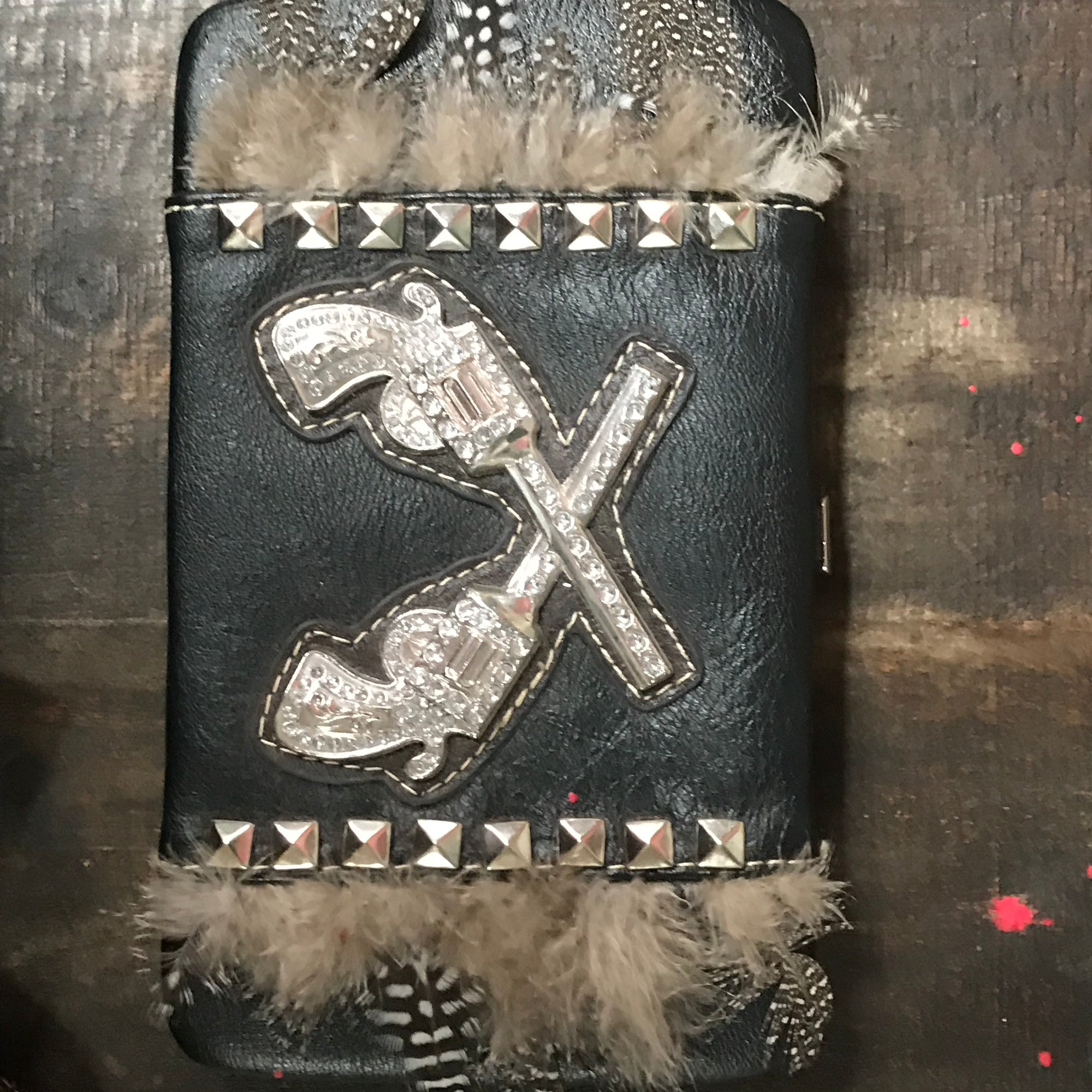 Double guns Western billfold-Billfold-Branded Envy