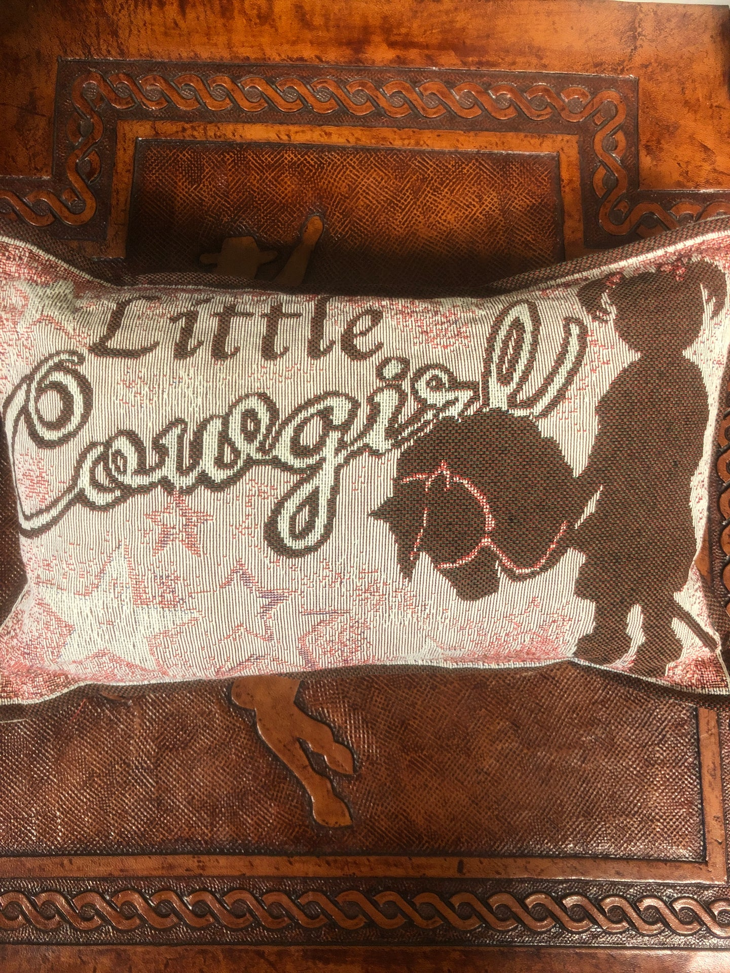 Little Cowgirl pillow