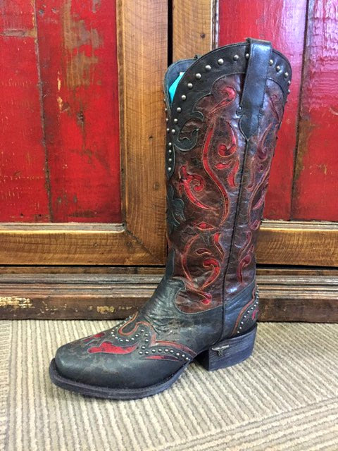 Lasso Lane Boot Red-Boots-Branded Envy