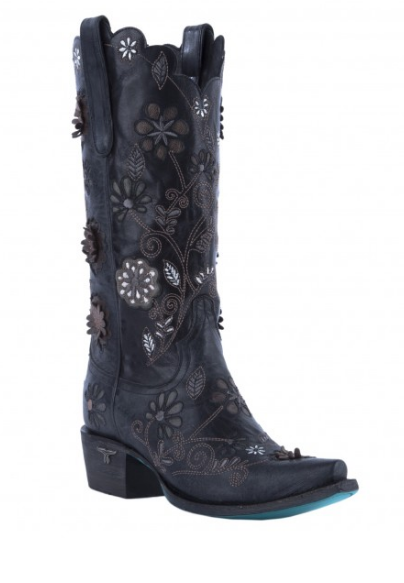 Marigold Black Boot by Lane-Boots-Branded Envy
