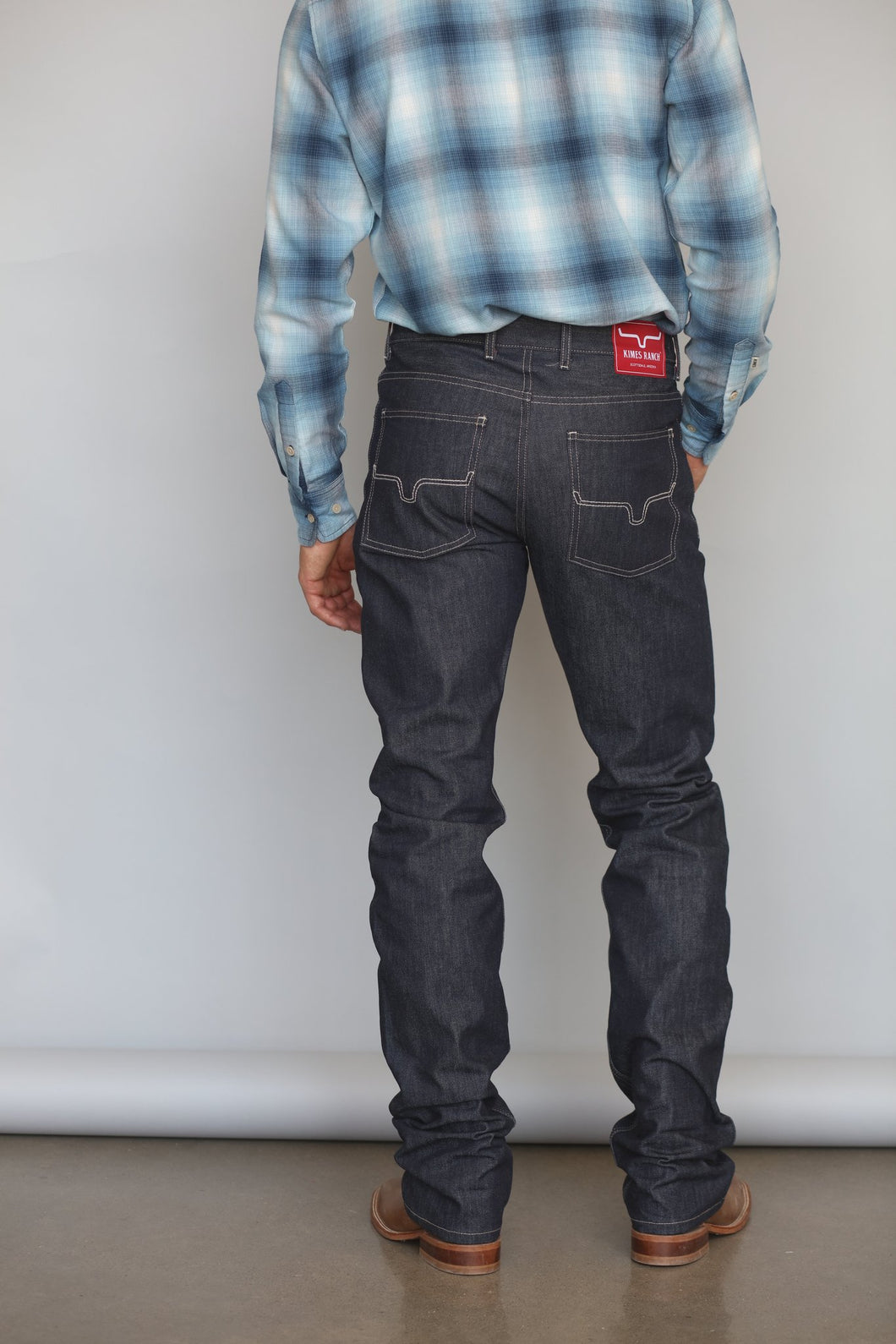 James Raw Denim Jean