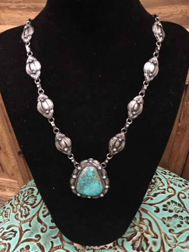 Sonia Genuine Turquoise Necklace