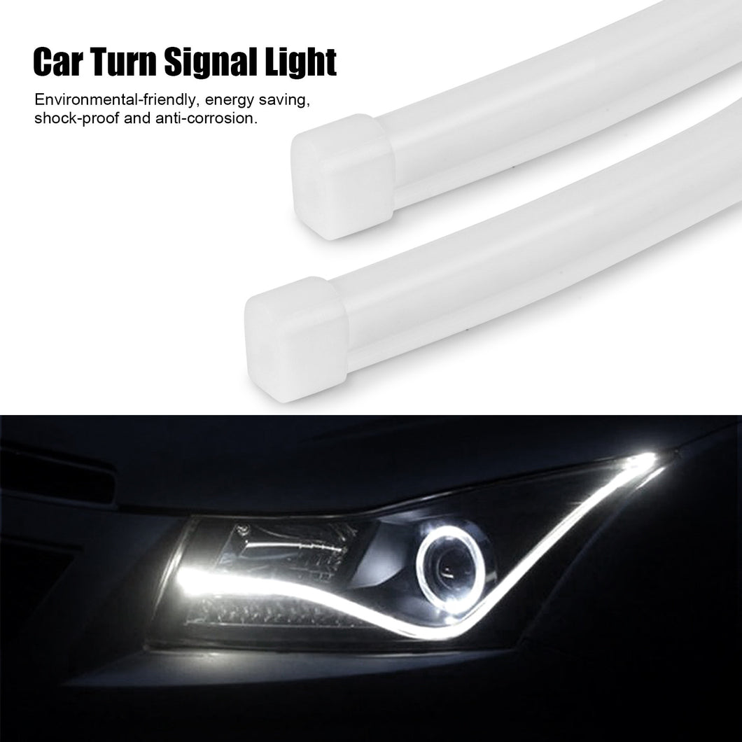 2pcs 60cm24 12v flexible silicon car led strip lights tube auto 2pcs 60cm24 12v flexible silicon car led strip lights tube auto turn signal mozeypictures Images