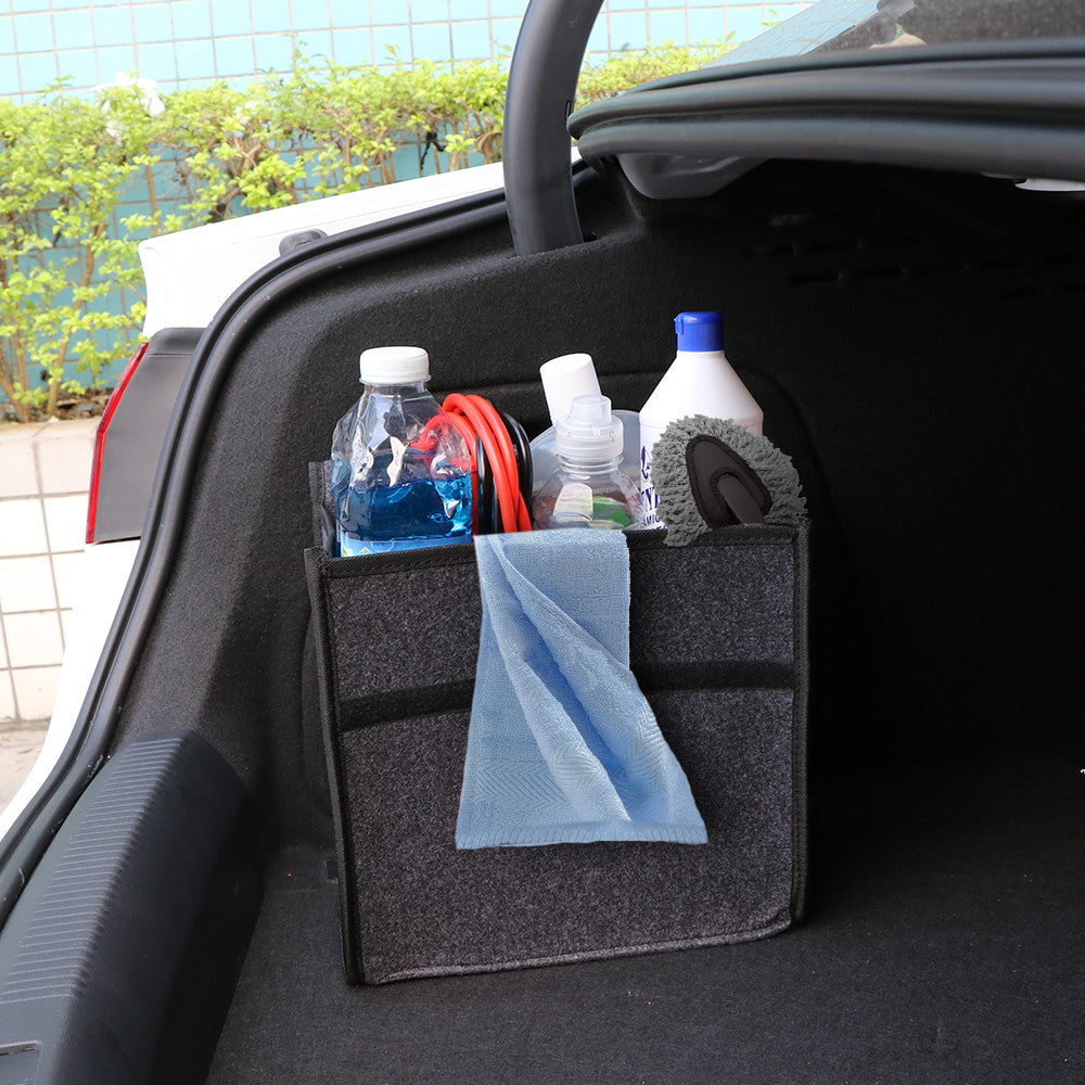 Onever Car Trunk Organizer Storage Bag Seat Back Rear Travel Cooler Holder Stowing Tidying Package