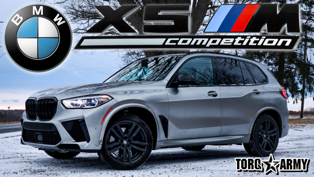 2021 BMW X5M COMPETITION - REVIEW