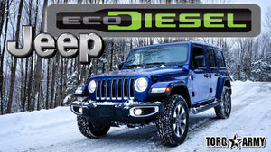 2021 JEEP WRANGLER UNLIMITED ECODIESEL - REVIEW