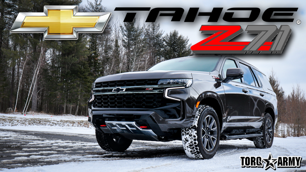 2021 CHEVROLET TAHOE Z71 - REVIEW - THE OFF-ROAD 3 ROW SUV ???