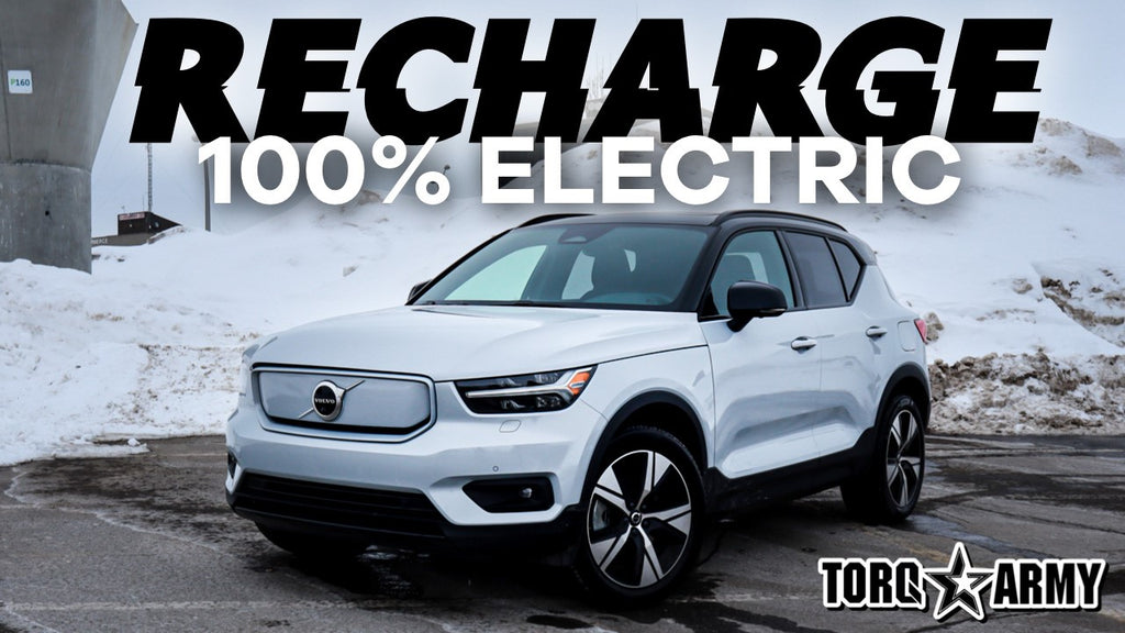 2021 VOLVO XC40 RECHARGE - FIRST DRIVE