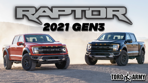 2021 FORD F-150 RAPTOR - NO V8 ???
