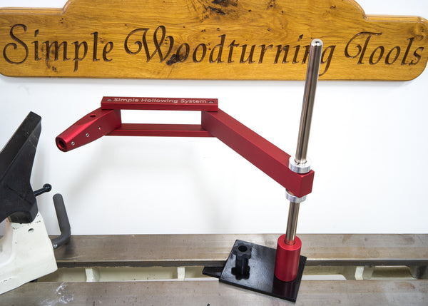 Simple Hollowing System for Woodturning Without Laser