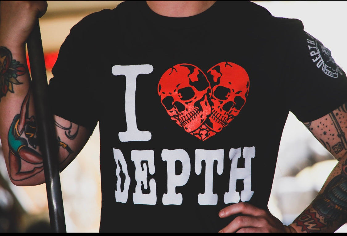(((( I Heart Depth DBDS TEE