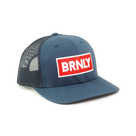 BRNLY Snapback, Red Brick