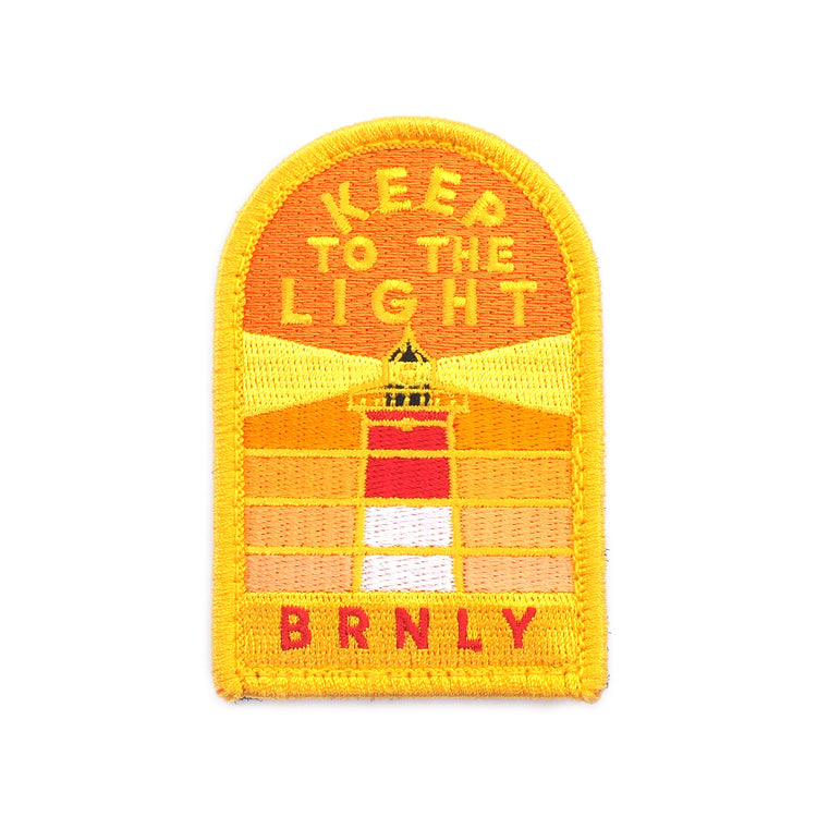 BRNLY Keep to the Light Sunrise Patch