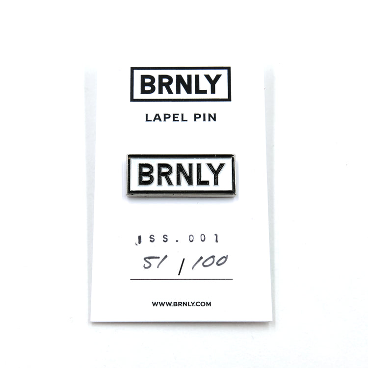 BRNLY Lapel Pin